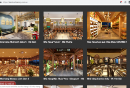Thiết kế website kiến trúc